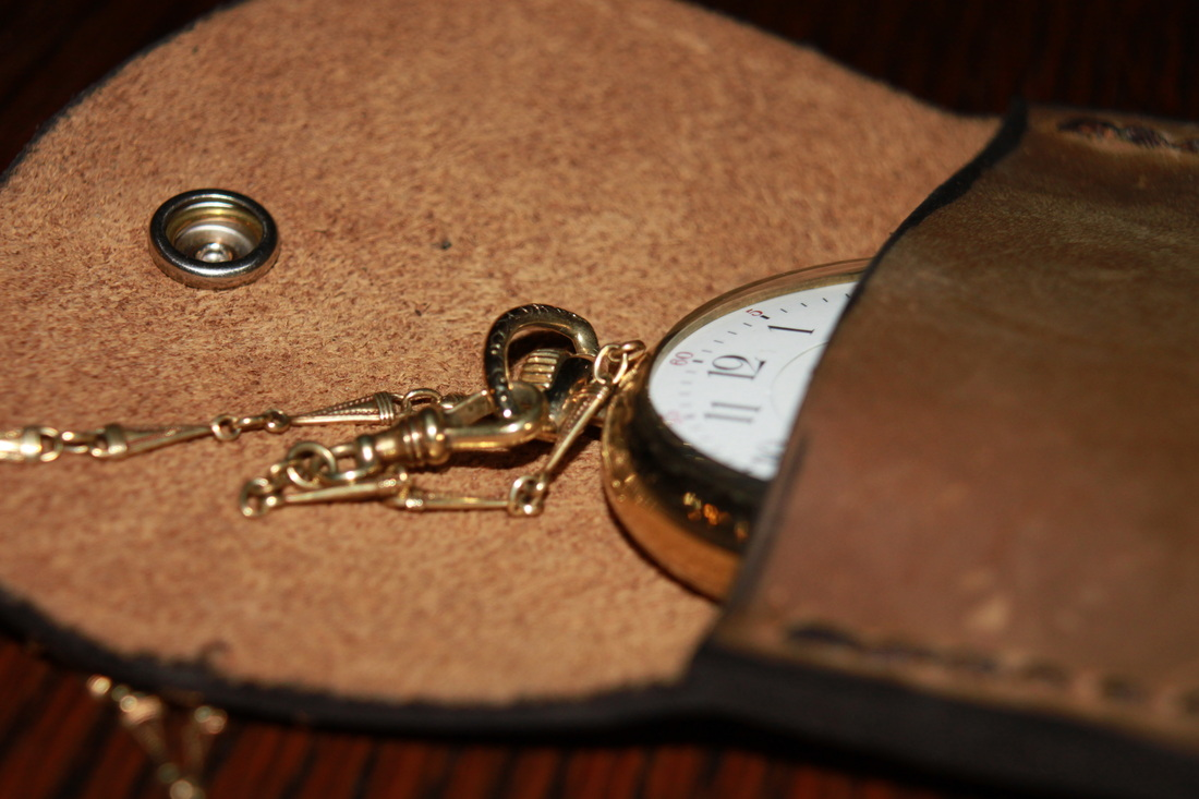 pocket watch pouch